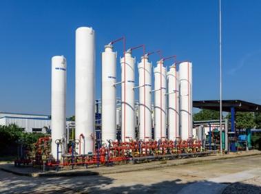 氢气缓冲储罐