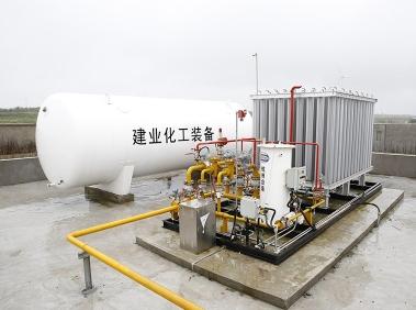北京LNG气化站